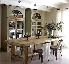 Farm Style Dining Room Sets - going rustic with farmhouse dining table how to make it work
