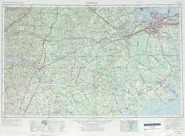 United States Topographical Map by Norfolk Topographic Map Sheet United States 1969 Full Size