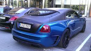 mansory wraith в украине засветилось жутко эксклюзивное купе rolls royce mansory