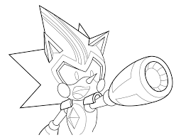sonic the hedgehog coloring page coloring page 6 shard the metal sonic by xaolin26 on deviantart