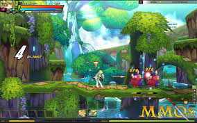 dragon nest halloween town background elsword online game review