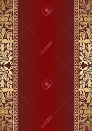 background with gold ornaments royalty free cliparts