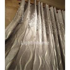 Silver And White Shower Curtain Sheer Fabric Shower Curtain Foter