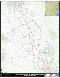 Harris County Toll Road Map High Speed Rail Firm Examining I 10 Route Houston Chronicle