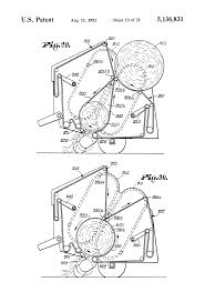 patent us5136831 continuous round baler and method google patents