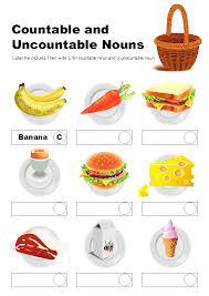 Countable And Uncountable Nouns Practice Pdf Countable And Uncountable Nouns Grammar Teaching