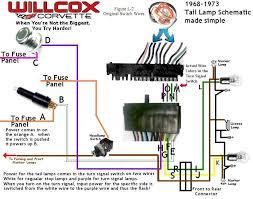 1979 corvette tail lights 1971 tail light wiring corvetteforum chevrolet corvette forum