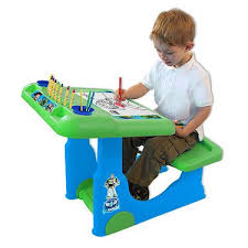 toy story activity table toy story 3 art desk amazon co uk toys games