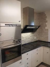 steinwand küche steinwand kuche home design