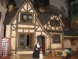 English Tudor Style by Dollhouses 2 Briar Rose An English Tudor Cottage Dream New England