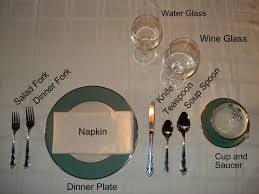 water glasses on table setting informal table setting classic outdoor room ideas a informal table