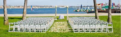 wedding venues in san diego san diego weddings catamaran resort and spa