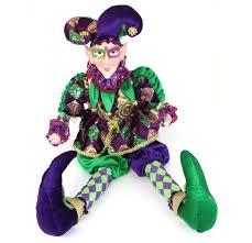 mardi gras jester costume mardi gras jester doll jubilee gift shop