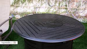 Ember Table Red Ember Stapleton 47 In Round Fire Pit Table Product Review