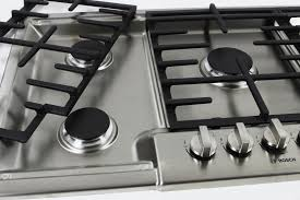 Bosch Induction Cooktop Review Bosch Ngm8055uc 30 Inch Gas Cooktop Review Reviewed Com Ovens