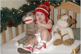 cute baby christmas photo card ideas baby care