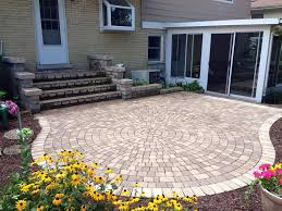 Brick Paver Patio Installation Brick Pavers Patio Design U0026 Installation Service Outside View