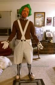 Oompa Loompa Halloween Costumes Crafty Procrastinating Guy U0027s Oompa Loompa Costume
