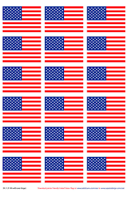 All The States Flags Printer Friendly American Flags