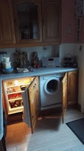 washing machine with built in sink wall base units built in fridge dishwasher sink also washing