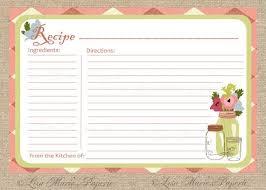 25 unique printable recipe cards ideas on pinterest recipe