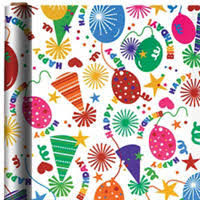 birthday gift wrap happy birthday gift bags gift wrap party city
