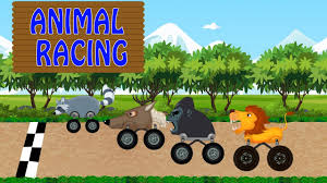 monster truck race videos animal monster truck racing monster truck video animal toy