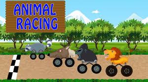 monster truck racing videos animal monster truck racing monster truck video animal toy