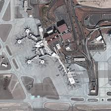 Las Vegas Mccarran Airport Map by Satellite Image Of Mccarran International Airport Las Vegas