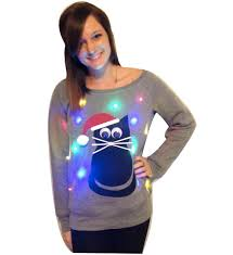 sweaters that light up s sweater cat light up swoop