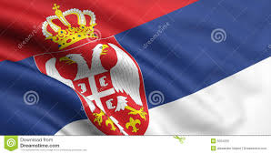Flag Of Serbia Flag Of Serbia Stock Photo Image Of Wind Wave Moving 5024200