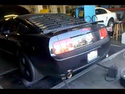 2006 Mustang Black 2006 Ford Mustang Black V6 Supercharged Dyno Youtube