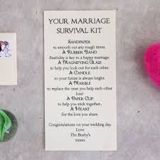 wedding gift kits wedding gift marriage survival kit personalised for the newly