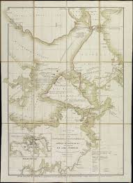 Arctic Map Maps Franklin Expedition
