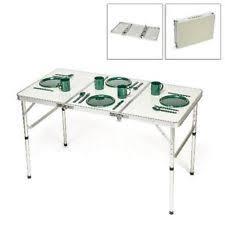 Adjustable Height Folding Table Legs 2x4 Height Adjustable Folding Table Aluminum Frame Camping Picnic