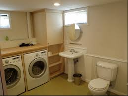 Basement Bathroom Ideas Pictures Ideas Fascinating Finishing Basement Small Laundry Room Ideas