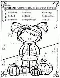 math addition coloring pages coloring home