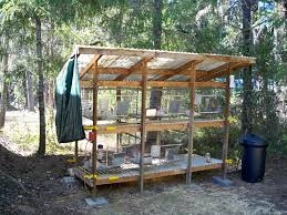 portable loafing shed for hanging rabbit cages chickens and