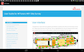 Wifi Heat Map Wifi Site Survey By Wituners Android Apps On Google Play