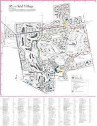 Map And Directions Muirfield Maps And Directions Muirfield Association Inc