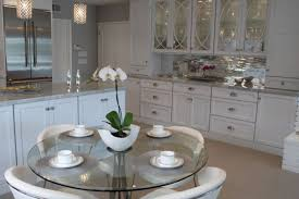 Round Glass Kitchen Table Kitchen Glass Kitchen Table Magnificent Kitchen Glass Table Home