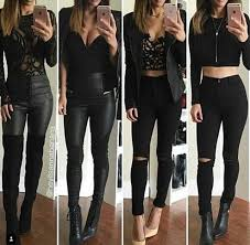 clubbing clothes high waisted and crop tops for fall threads