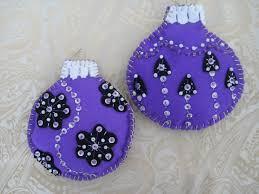 purple garden set of two extra large felt baubles 8 00 via