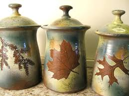 kitchen counter canisters colorful pottery kitchen canister sets ebay millena