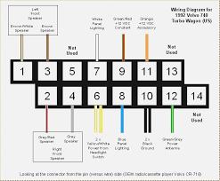 volvo 740 radio wiring diagram davehaynes me