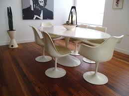 Knoll Dining Table by Vintage Mid Century Modern Saarinen Knoll Tulip Dining Table