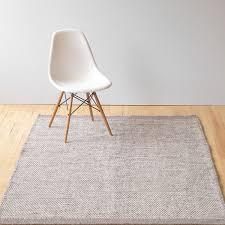 Plain White Rug Asko Light Grey Natural Wool Rug Plain Rugs Rugs Living Room
