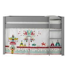 Maison Du Monde Lit Enfant by 3 Rideaux De Lit Enfant En Coton Multicolore L 94 à 200 Cm Farwest