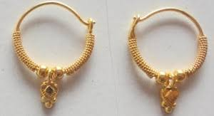 hoops earrings india hoops earrings indian accent 22k yellow gold hoop earrings