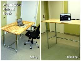 Standing Or Sitting Desk Standing Sitting Desk Sis Sc Standing Or Sitting Adjustable Desk